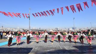 29 Ekim Cumhuriyet Bayramı'nın 95. Yılı Üsküdar'da Coşkuyla Kutlandı